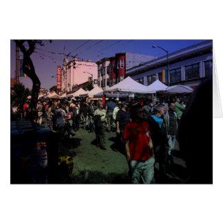 Castro Street Fair Greeting Card