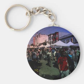 Castro Street Fair Keychain