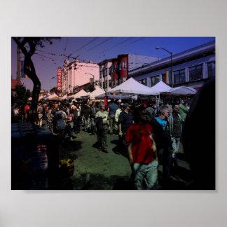 Castro Street Fair Poster