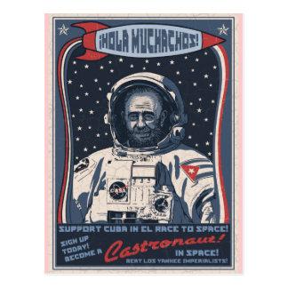 Castronaut Postcard