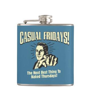 Casual Fridays: Naked Thursdays Hip Flask