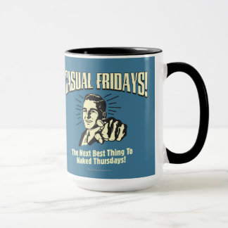 Casual Fridays: Naked Thursdays Mug