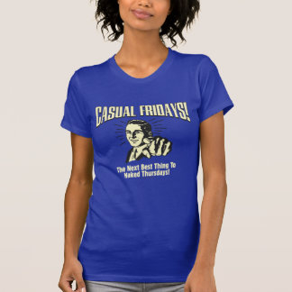 Casual Fridays: Naked Thursdays T-Shirt