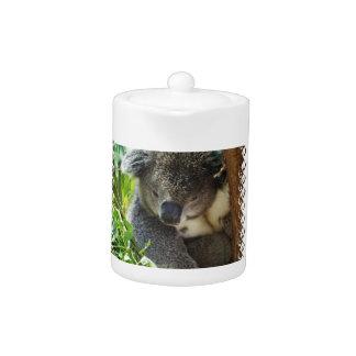 Casual Koala Teapot
