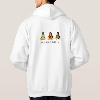 Casual Penguins Mens Hoodie