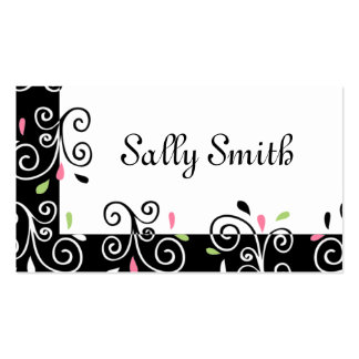 Casual Swirls Pack Of Standard Business Cards