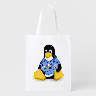 Casual Tux Reusable Bag