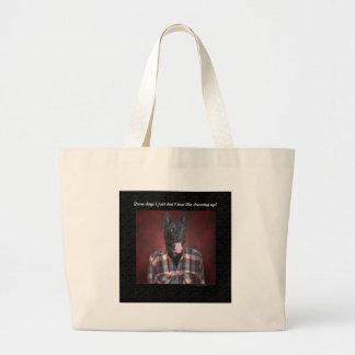Casual wear jumbo tote bag