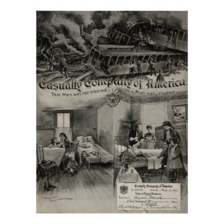 Casualty Company of America [1907] Poster