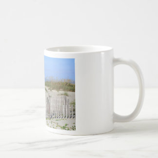 Caswell Beach, NC Land and Seascape Coffee Mug