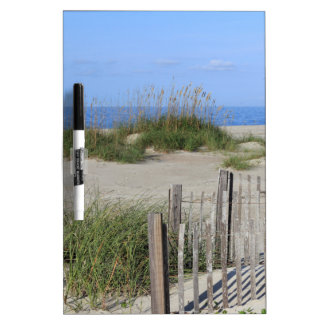 Caswell Beach, NC Land and Seascape Dry Erase Whiteboards
