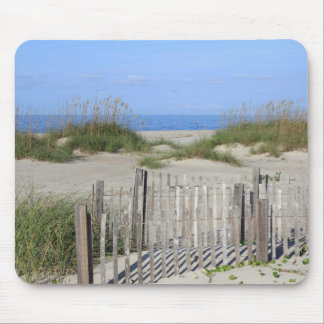 Caswell Beach, NC Land and Seascape Mouse Pad
