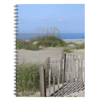 Caswell Beach, NC Land and Seascape Spiral Note Book