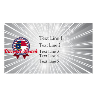 Caswell Beach, NC Pack Of Standard Business Cards