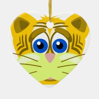 cat-1625949 ceramic heart decoration