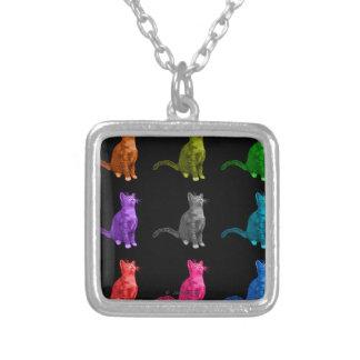 Cat 3771 - BB Square Pendant Necklace