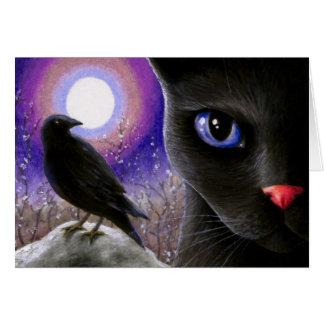 Cat 570 greeting card