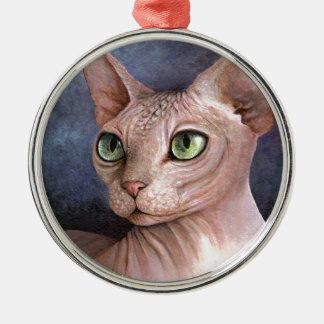 Cat 578 Sphynx Christmas Ornament