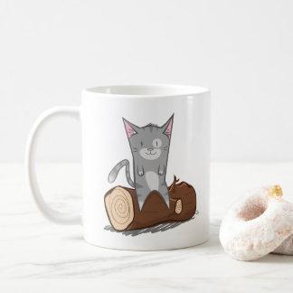 Cat a log - Mug
