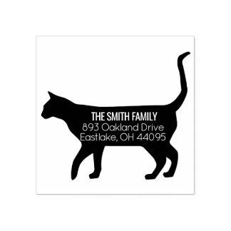 Cat Address Stamp