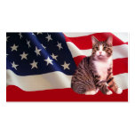 Cat All American Business Card