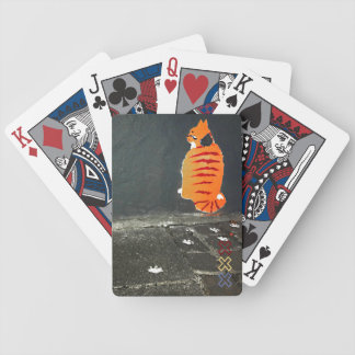 Cat Amstergram Bicycle Playing Cards