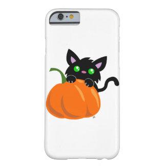 Cat and a Pumpkin Smart Phone Case