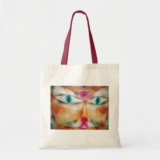 Cat and Bird, Paul Klee Tote Bag
