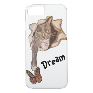 Cat and Butterfly iPhone 8/7 Case