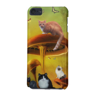 Cat and Butterfly iPod Touch Case