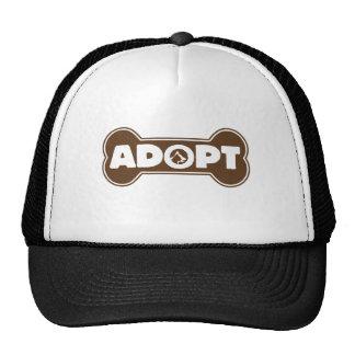 cat and dog adoption adopt bone cap
