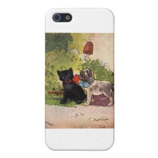 Cat and Dog Adventure Artwork iPhone 5/5S Cases