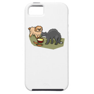 Cat And Dog iPhone 5 Cover
