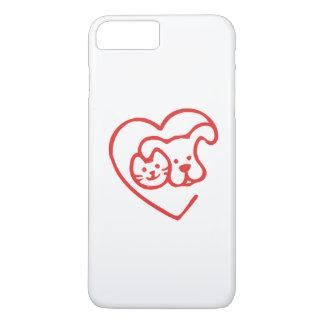 Cat and Dog iPhone 7 Plus Case