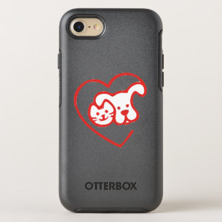 Cat and Dog OtterBox Symmetry iPhone 7 Case