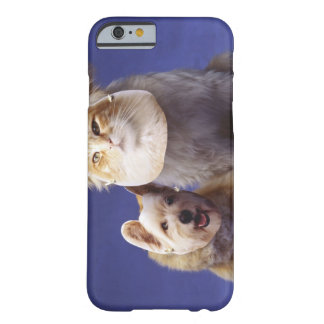 Cat and dog with masks barely there iPhone 6 case