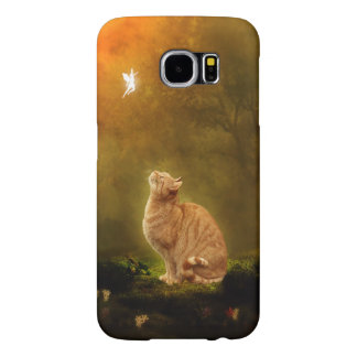 Cat and Fairy Samsung Galaxy S6 Cases