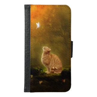 Cat and Fairy Samsung Galaxy S6 Wallet Case