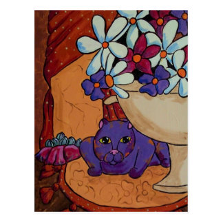 Cat and Figs Postcards