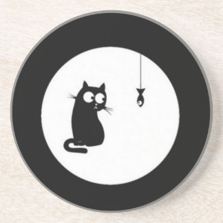 Cat and Fish (Cat and Fish) Drink Coaster