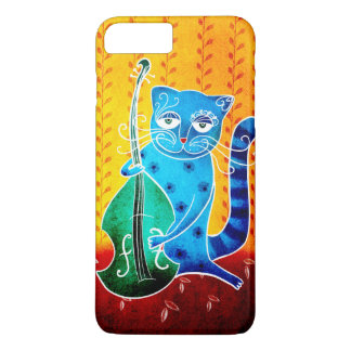 Cat and jazz iPhone 8 plus/7 plus case