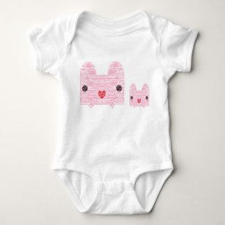 Cat and Kitten Baby Bodysuit