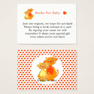 Cat and Kitten Super Cute Books For Baby Business Card