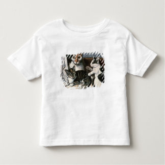 Cat and Kittens, c.1872-1883 Toddler T-Shirt