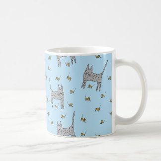 Cat and Mice Mug