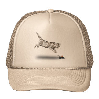 Cat and Mouse cartoon Hat
