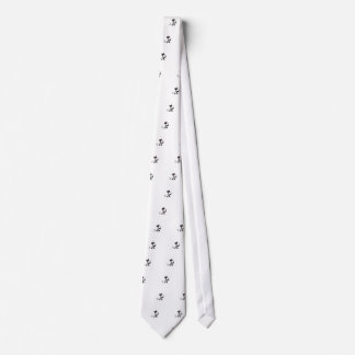 Cat and Mouse Design Tie