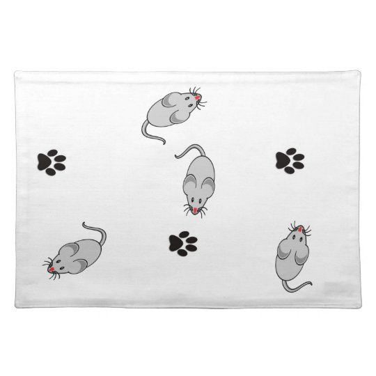 Cat and Mouse Place Mat