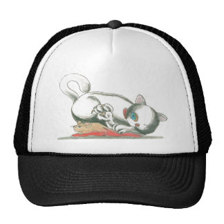 Cat and Mouse TOWT Mascot Hats