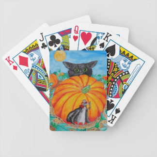Cat and Mouseketeer Bicycle Playing Cards